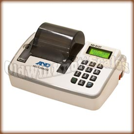 AD-8127 Multi-Functional Compact Printer for Balances/Scales and, a&d, ad-8127, ad-8121B, impact dot matrix printer