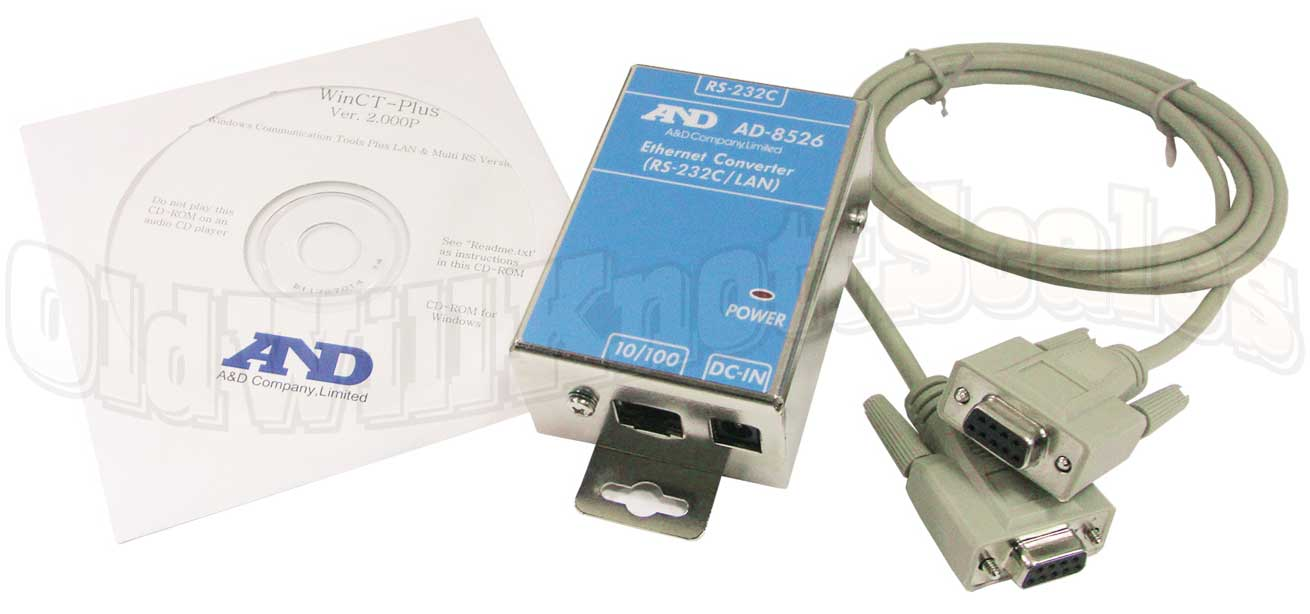 A&D AD-8526-9 Ethernet Adapter