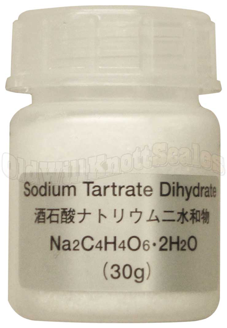 A&D AX-33 12pk Sodium Tartrate Dihydrate 30g Test Samples