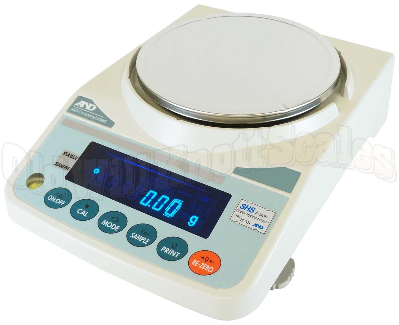 A&D Scales FX-i Series FX-2000i Toploader Precision Balance