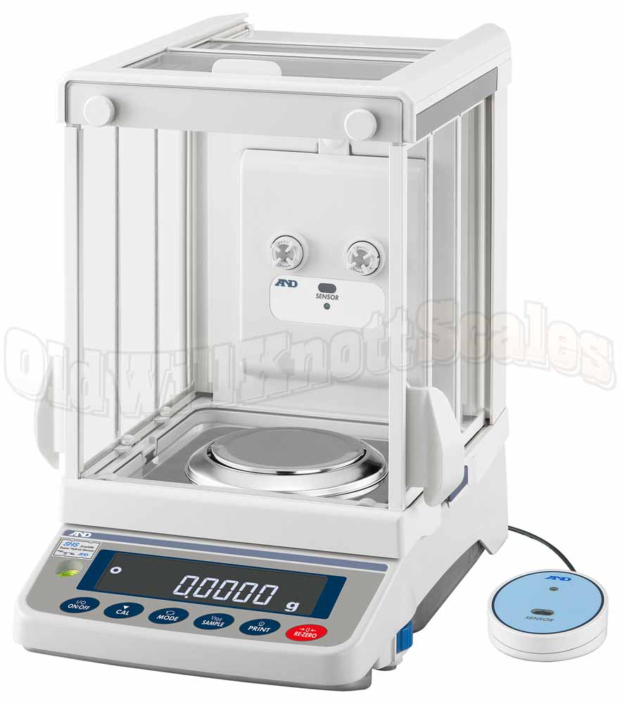 A&D - GX-324AE Apollo Series Analytical Balance with Ionizer and External Sensor
