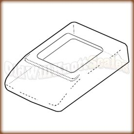 A&D - GXA-31-1PK - Clear Protective Cover