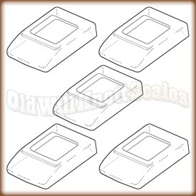 A&D - GXA-31-5PK - Clear Protective Covers