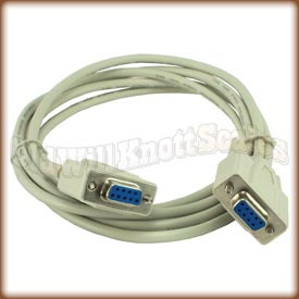 A&D - KO:WW9-9 - 6 Foot 9-Pin RS232C Cable with Female Connectors
