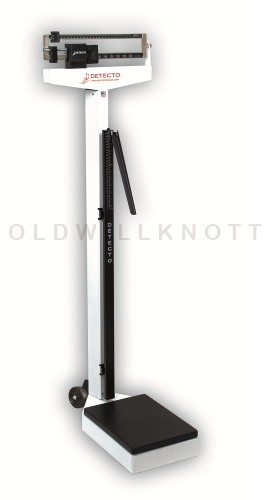 Detecto 339 - Pounds and Kilograms - Height Rod Included