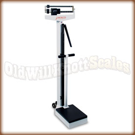 Detecto 448 - Pounds Only - Handpost, Height Rod and Wheels Included