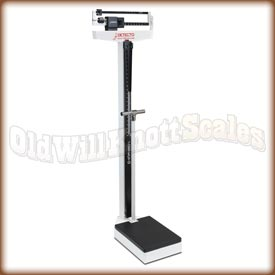Detecto 2491 - Kilograms Only - Handpost and Height Rod Included