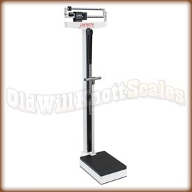 Detecto 349 - Pounds and Kilograms - Handpost and Height Rod Included