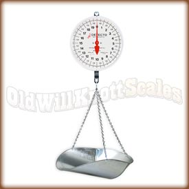Detecto MCS-40DP mcs-40dp,dial scale,double dial,hanging scale,scoop,detecto