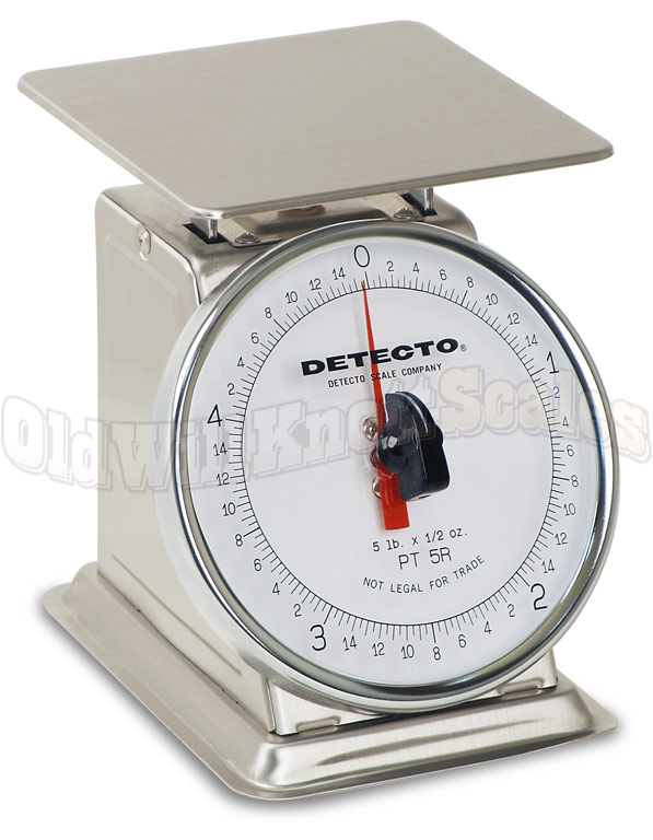 Detecto PT-5SR - Stainless Steel Body & Rotating Dial