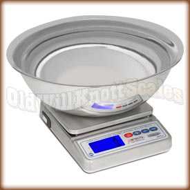Detecto - WPS12UT Mariner - Using the Included Stainless Steel Bowl