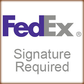 FedEx Signature Required