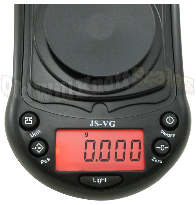 Jennings JSVG20 Pocket Scale with 0.002 Gram Precision