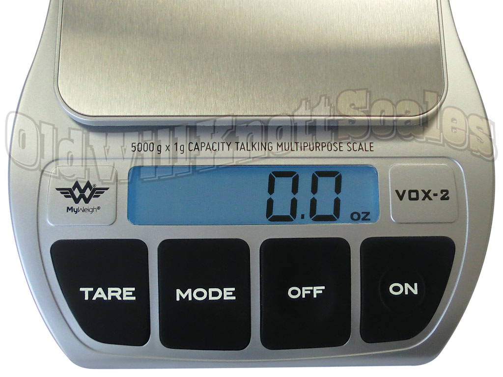 My Weigh Vox-2 Talking Digital Kitchen Scale with Four Languages