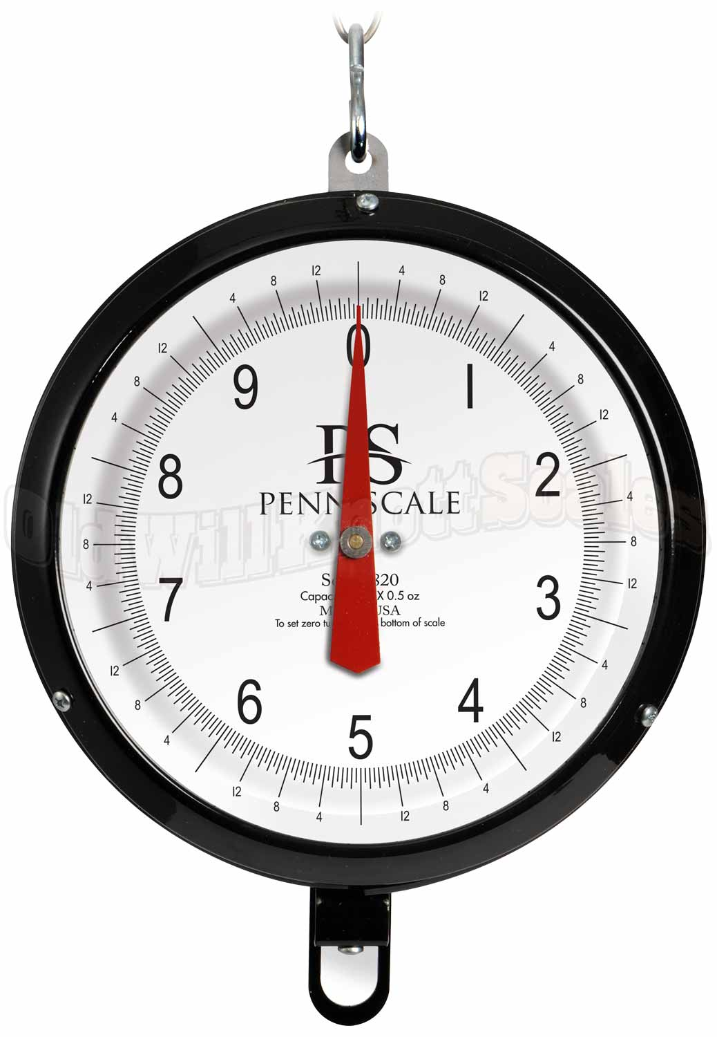 Penn Scale 820PGD - Glass Covered Double Dial and Weighing Pan