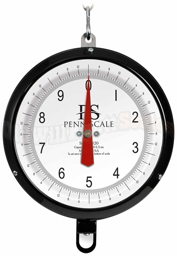 Penn Scale 820VG-PX - Plexiglass Covered Dial and Vegetable Scoop