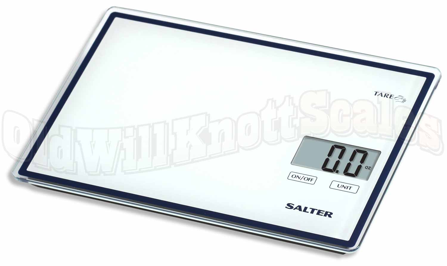 Salter - 3872TT - Glass Top Digital Kitchen Scale with Touchless Tare