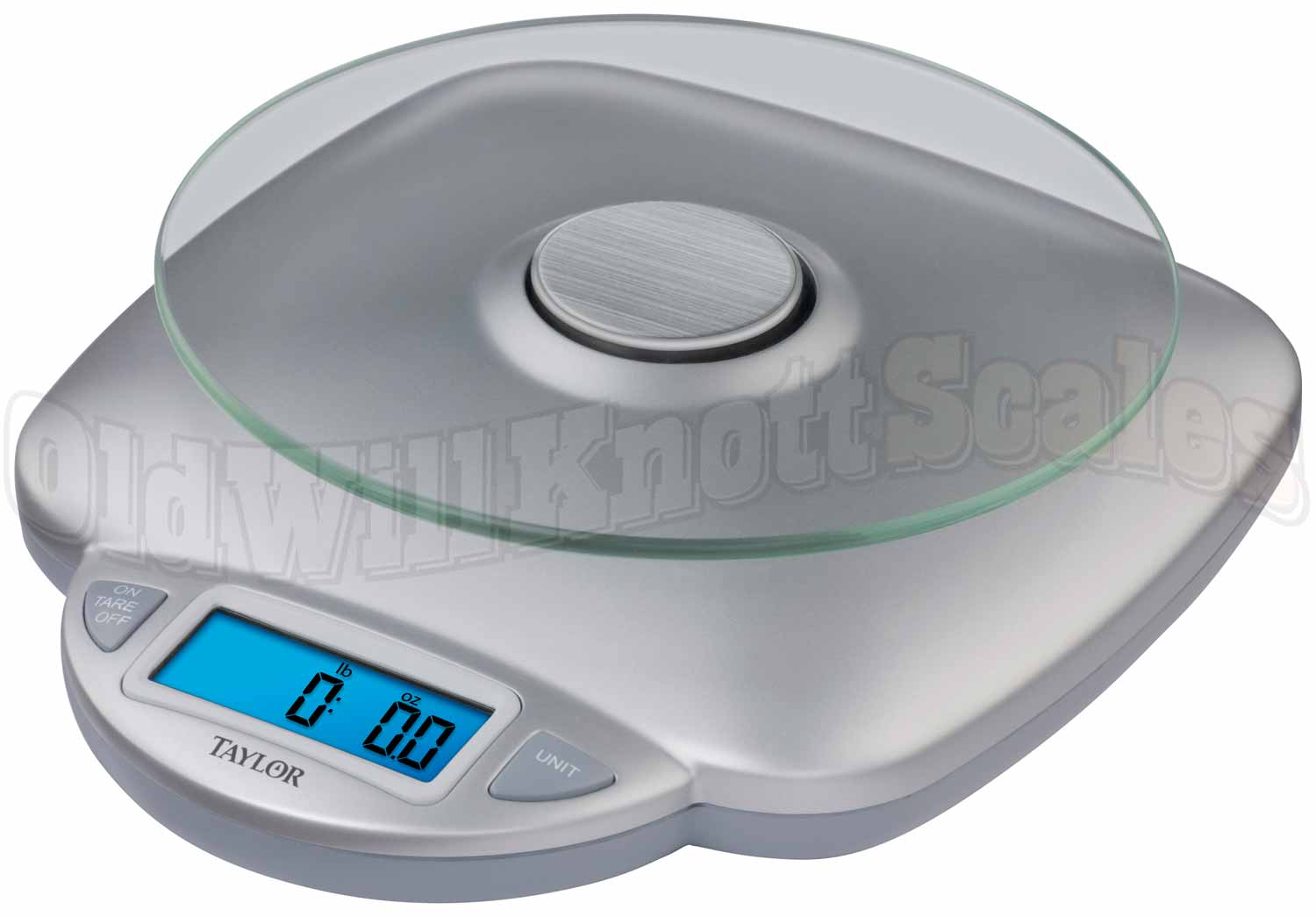 Taylor - 3842 - Digital Kitchen Scale with Round Glass Platform