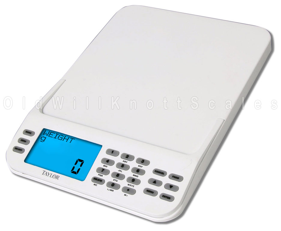 The Taylor 3847 Cal Max Calorie Counting Scale With 1000 Foods
