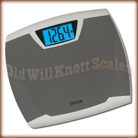 Taylor - 7370 - Digital Bathroom Scale with Blue Display