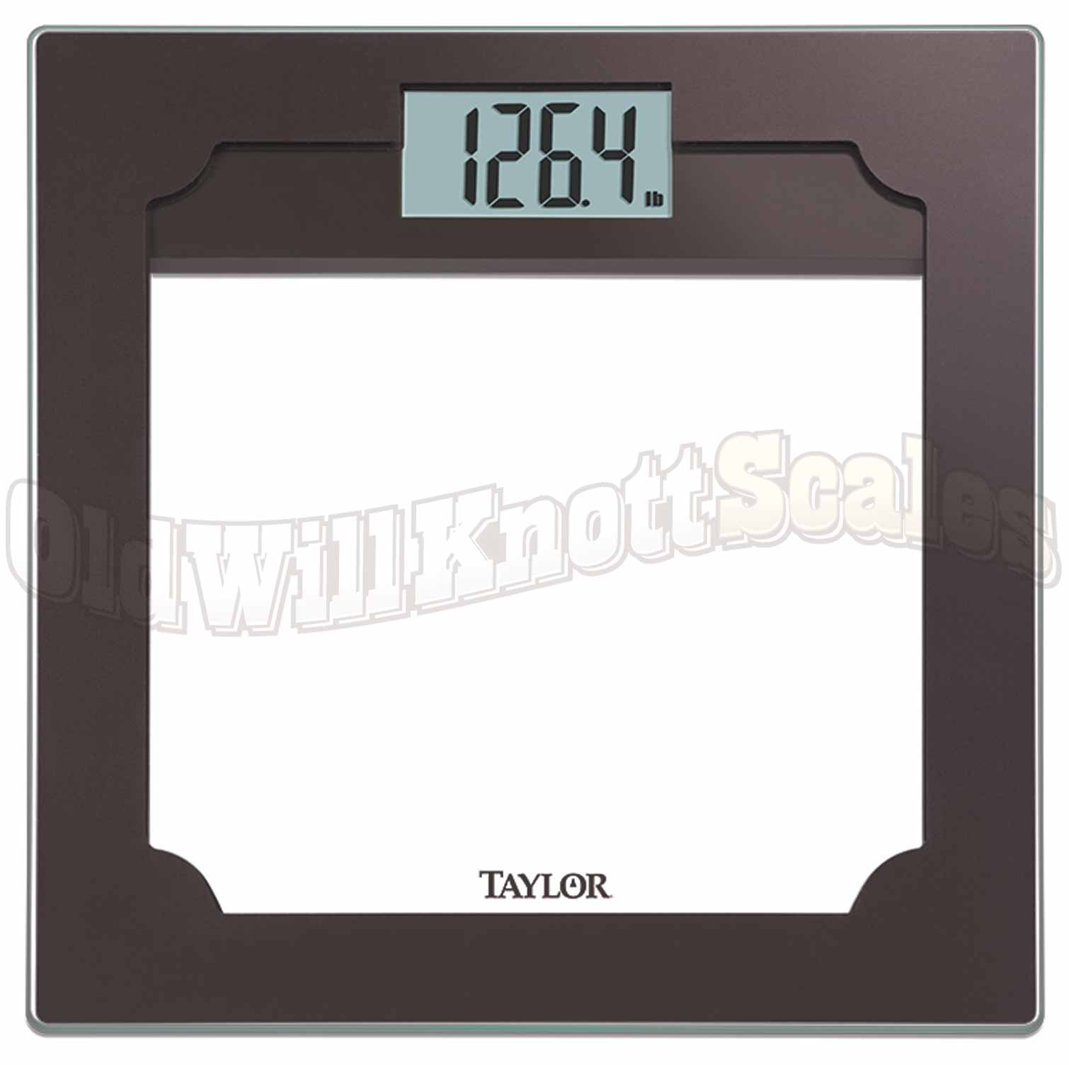 Bathroom scales with capacities 400 pounds to 499 pounds taylor 7580 taylor 7580taylor digital scaletaylor jeuxipadfo Gallery