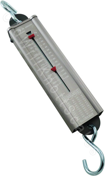 Weston Sportsman's 320# Pull Type Spring Scale
